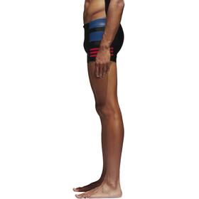 adidas Fitness Colourblock 3 Stripes Boxer Men Black/Scarlet/Collegiate Royal
